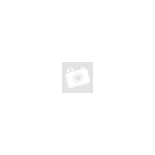 Szemüveg, páramentes víztiszta lencsével, kék szárral