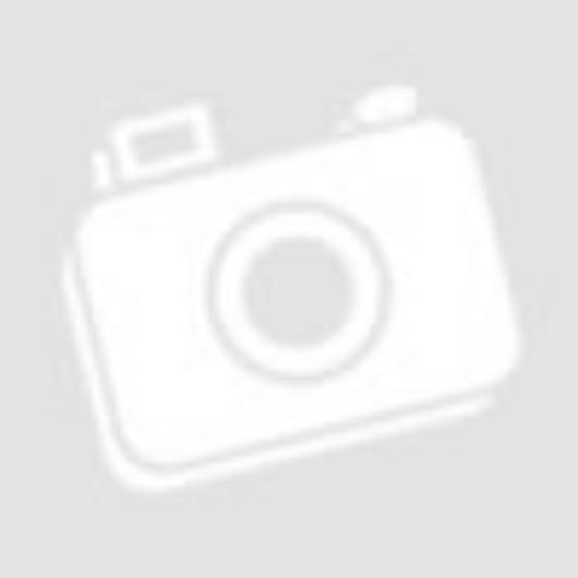 Szemüveg, kis méretű páramentes sötétszürke lencsével, sötétszürke szárral