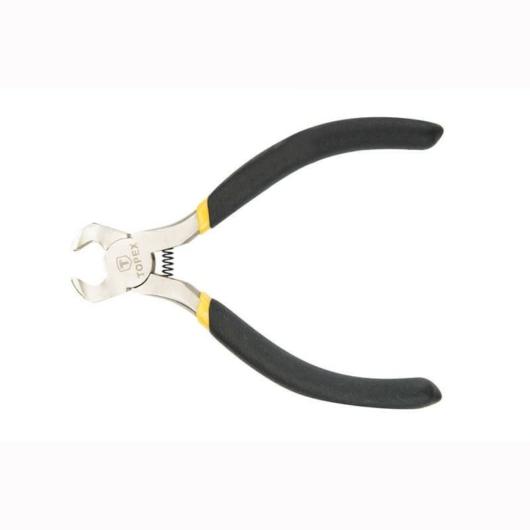 Homlokcsípőfogó 115 milliméter, gumis nyéllel