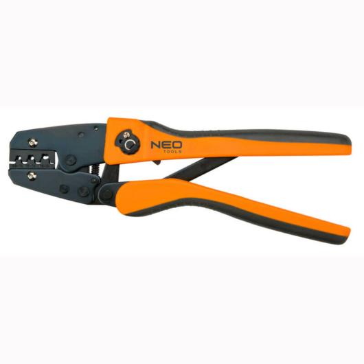 Kábelsaruzó fogó 250 milliméter, szigeteletlen sarukhoz